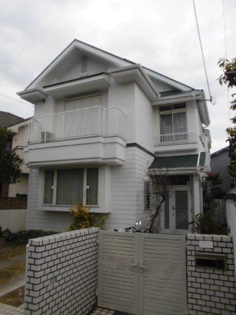 大阪府堺市東区K様邸 屋根 外壁塗装及び防水工事-施工後