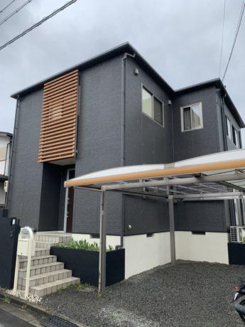 大阪府和泉市O様邸 屋根 外壁塗装工事-施工後