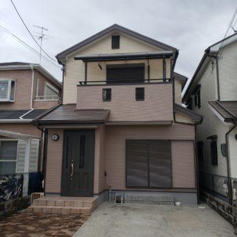 大阪府堺市美原区M様邸 屋根 外壁塗装及び防水工事-施工後