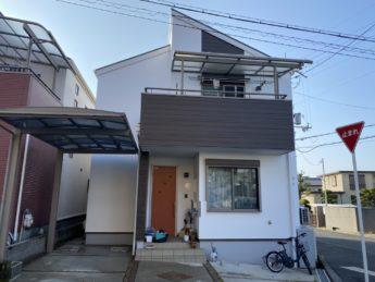 大阪府堺市南区N様邸 屋根 外壁塗装及び防水工事-施工後