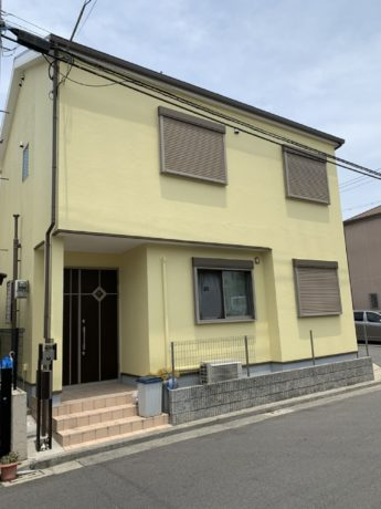 大阪府堺市堺区T様邸 屋根 外壁塗装及び防水工事-施工後