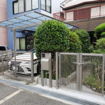 大阪府堺市北区O様邸 エクステリア及び外構工事-施工後
