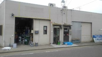 (株)洲加本建装工業資材倉庫 屋根 外壁塗装工事-施工前