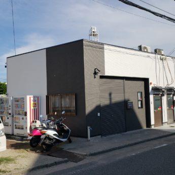 (株)洲加本建装工業資材倉庫 屋根 外壁塗装工事-施工後