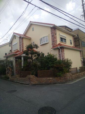 大阪府堺市北区T様邸 屋根 外壁塗装工事及び防水工事-施工後