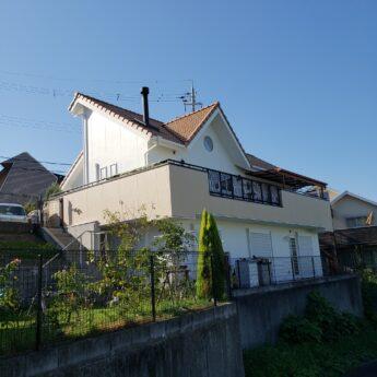 大阪府堺市南区N様邸 外壁塗装及び付帯部塗装工事-施工後