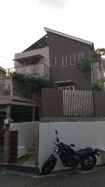 大阪府堺市南区S様邸 屋根 外壁塗装工事及び防水工事-施工後
