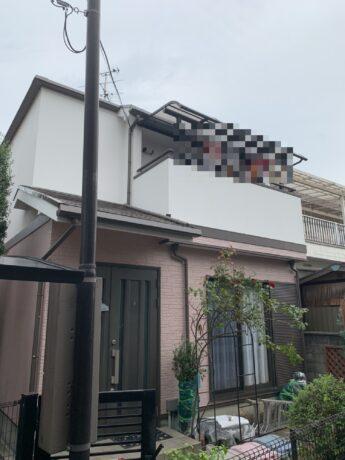 大阪府松原市N様邸 屋根 外壁塗装工事及び防水工事-施工後