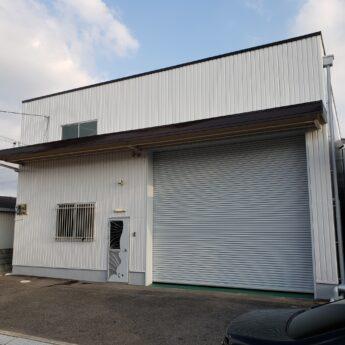 大阪府堺市中区S倉庫様 内外部塗装工事及び防水工事-施工後