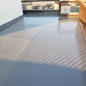 大阪府堺市中区K様邸 付帯部塗装及び屋上防水工事-施工後