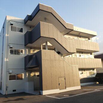 和歌山県和歌山市Sマンション様 外壁塗装及び防水工事-施工後