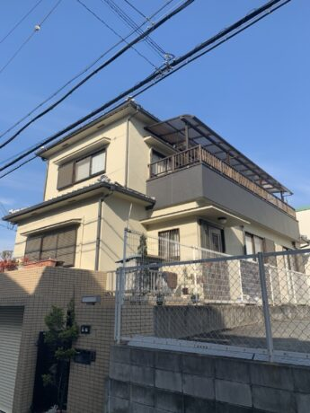 大阪府堺市中区I様邸 外壁塗装工事-施工後