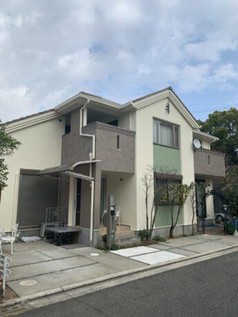 大阪府堺市南区N様邸外壁塗装及び防水工事-施工後