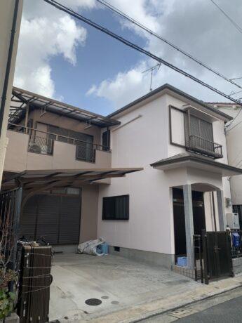 大阪府堺市西区M様邸 屋根 外壁塗装工事及び防水工事-施工後
