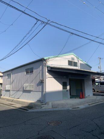 大阪府堺市中区S倉庫様 外壁塗装及び屋根葺き替え工事-施工後