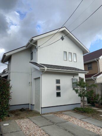 大阪府堺市南区K様邸 屋根 外壁塗装工事-施工後