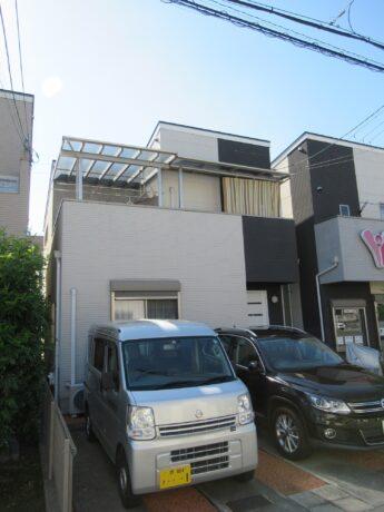 大阪府和泉市N様邸 屋根 外壁塗装工事及び防水工事-施工前