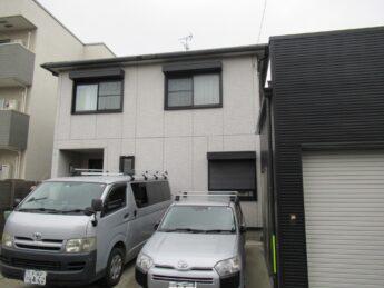 大阪府堺市堺区N様邸 屋根 外壁塗装工事及び防水工事-施工前