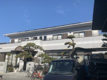 大阪府堺市東区M様邸 外壁塗装工事、防水工事及びタイル工事-施工後