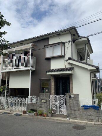 大阪府和泉市O様邸 外壁塗装及び防水工事-施工後
