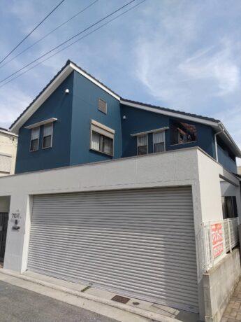 大阪府泉大津市N様邸 外壁塗装及び防水工事-施工後