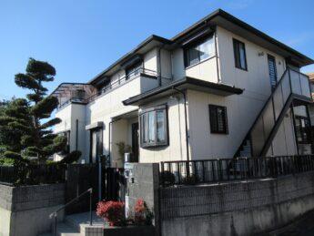 大阪府和泉市T様邸 屋根 外壁塗装工事及び防水工事-施工前