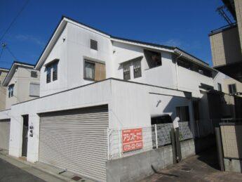 大阪府泉大津市N様邸 外壁塗装及び防水工事-施工前