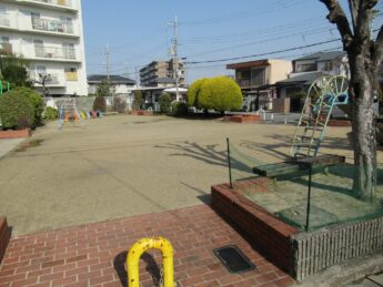 大阪府堺市東区やまどり公園 遊具塗装工事-施工前