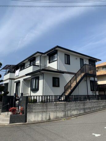 大阪府和泉市T様邸 屋根 外壁塗装工事及び防水工事-施工後