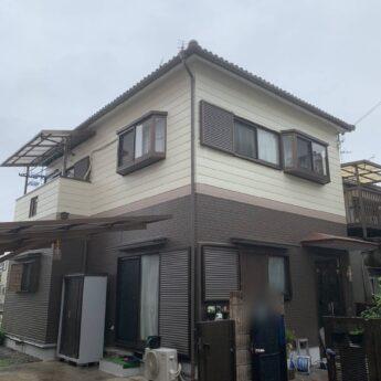 大阪府松原市S様邸 外壁塗装工事及び防水工事-施工後