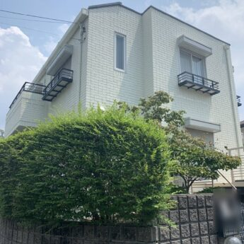 大阪府堺市南区Y様邸 屋根 外壁塗装工事及び防水工事-施工後