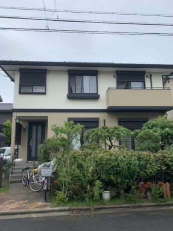 大阪府岸和田市F様邸外壁塗装工事🏠-施工後
