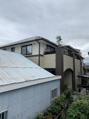 大阪府和泉市N様邸 屋根 外壁塗装工事及び防水工事🏠-施工後